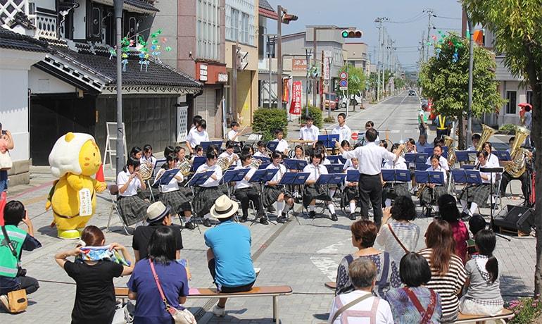 加美町では音楽での定住も進めています