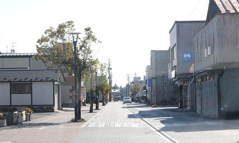 加美町メインストリート