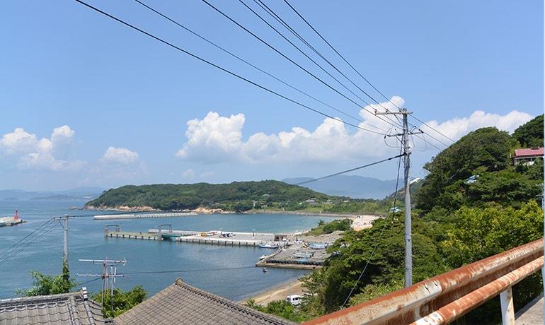 網地島前景