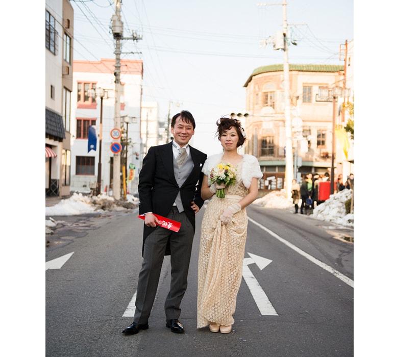 移住先で結婚