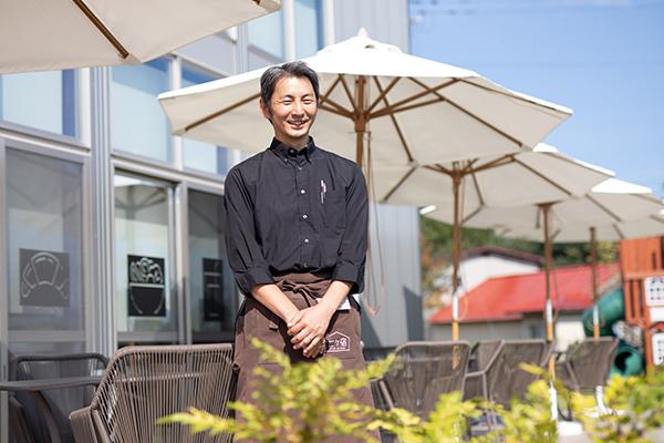 小さな町の新拠点を支える静かな情熱人 /成田知将さん